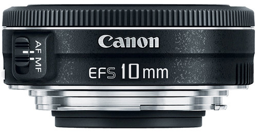 Canon EFS 10mm lens image
