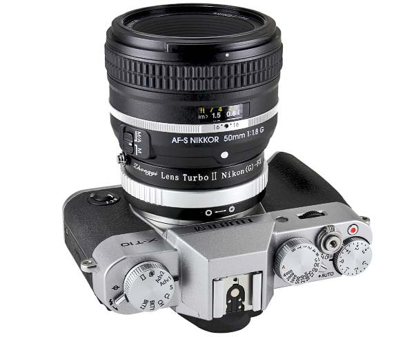 Naka Lens adapter and speed booster