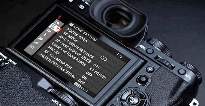 Fujifilm Firmware update