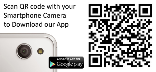 The new camera QR code