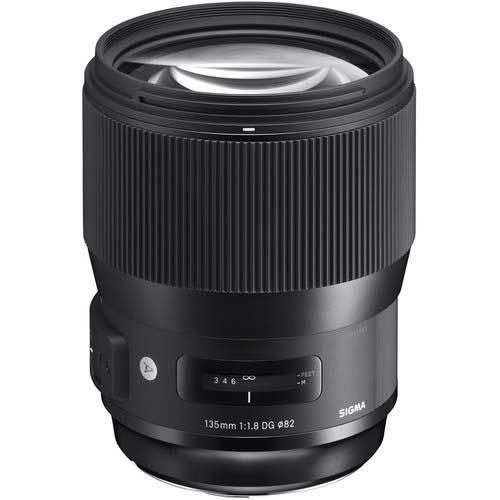 Sigma 135mm lens image