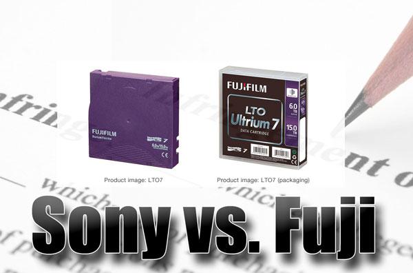 Sony vs Fuji