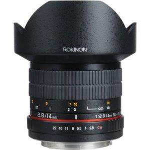 14mm prime lens