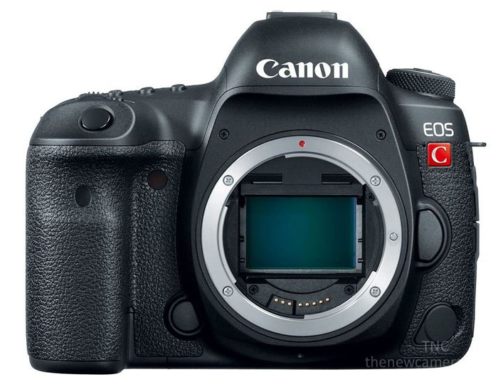 Canon EOS cinema DSLR camera