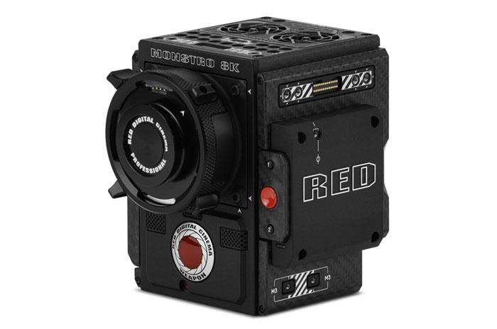 RED epic camera image