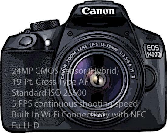 Canon 1400D