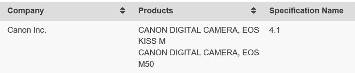 Canon EOS M50 image