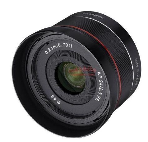 Samyang 24mm F2.8