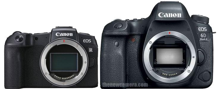 Canon RP vs Canon 6D Mark II « NEW CAMERA