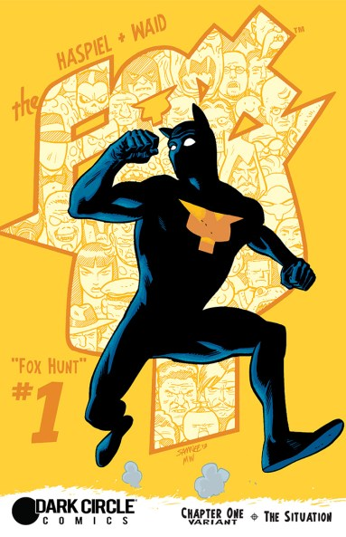 THE FOX #1 variant cover by Chris Samnee