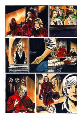 CHILLING ADVENTURES OF SABRINA #5 Artwork by Robert Hack