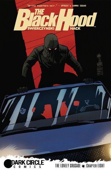THE BLACK HOOD #8 Cover by Francesco Francavilla