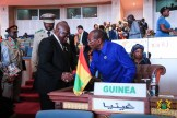 President Akufo-Addo with President Alpha Conde of Guinea
