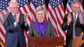 ABC News: Hillary Clinton's Full Concession Speech- Election 2016 Finally Comes to an End