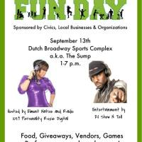 Elmont Family Fun Day, Live Now at Dutch Broadway Sports Complex, 1-7 P.M.