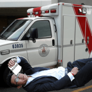 Overeager Pre-Med Student Uses Ambulance Transport as Valuable Healthcare Networking Opportunity