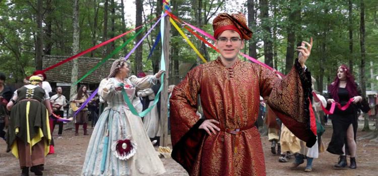 History Major Finds Success At Renaissance Fair