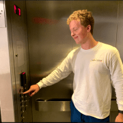 Weirdo Gets Power Trip From Pressing Walsh Elevator Buttons