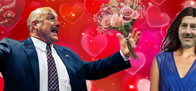Addazio Sends Himself Flowers, Chocolates For Valentine's Day