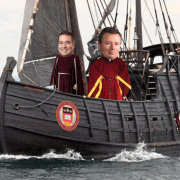 """Don't Travel During Columbus Day Weekend"" Say Lochhead, Comeau From Helm Of The ""Pinta"""