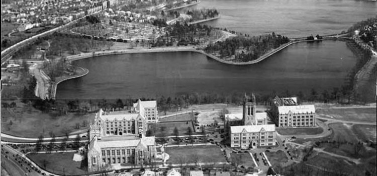 OPINION: All Of Lower Campus Used To Be A Reservoir. Things Were Better That Way.