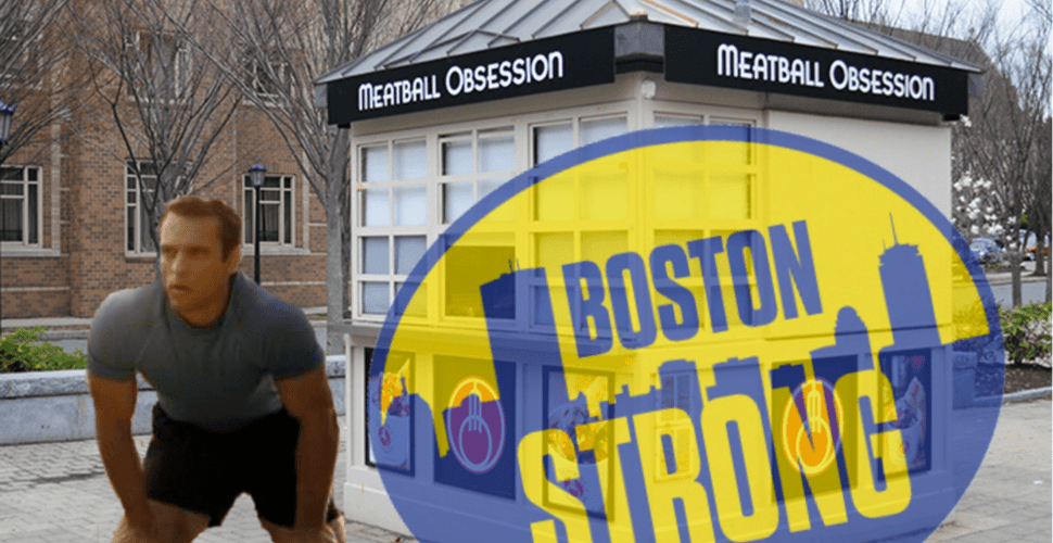 Boston Strong: This Freshman Almost Threw Up, But Didn't!