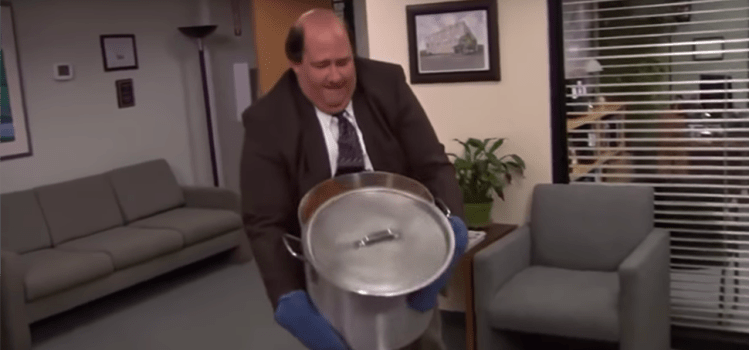 This Article Is Just 11 GIFs Of Kevin Spilling The Chili, And We Know You Sheeple Will Still Love It