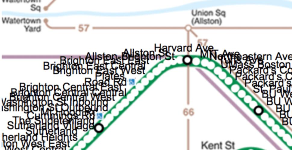 MBTA B Line Renovation Will Add 47 New Stops