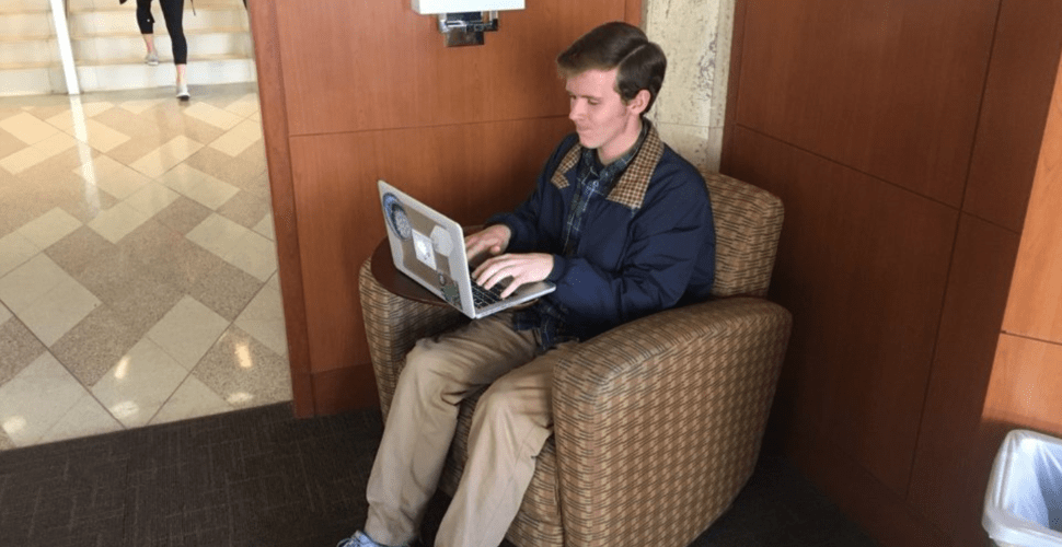 Student 'Not One To Get Political Online, But'—Oh Boy, Here We Go