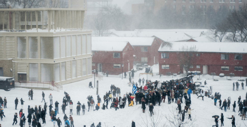 Boston College Promises To Provide Students Sanctuary From Snow, No Word Yet About White Nationalist US Administration