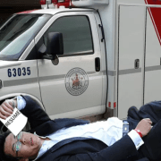 Overeager Freshman Uses Ambulance Transport As Valuable Pre-Med Networking Opportunity