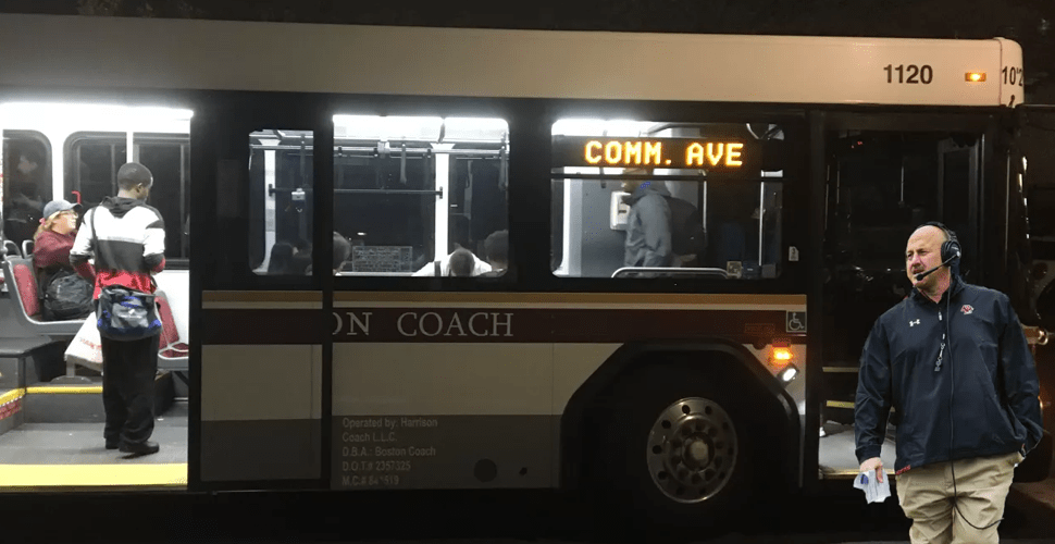 Addazio Boards Comm Ave Bus Instead Of Team Bus To South Carolina, Will Miss Clemson Game