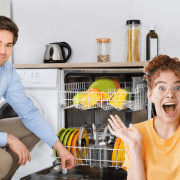 Roommate's Boyfriend Discovers Dishwasher