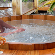 """""""God Best Experienced In This Hot Tub,"""" Reports Vacationing Jesuit"""