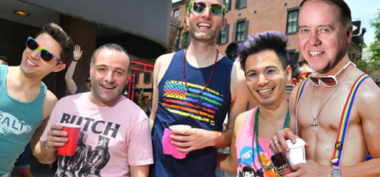 Fr. Leahy Has Great Day At Boston Pride