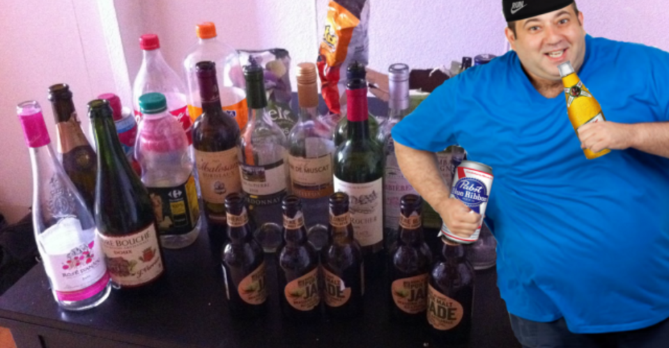 Senior Completes Arduous Marathon Monday Drinking Training Regimen