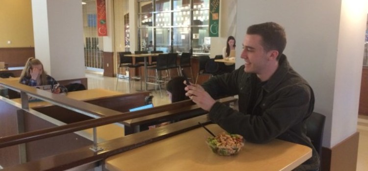 Class Clown Takes Snapchat Of Friend From Second Floor Of Lower