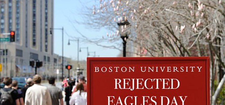 "BU Holds ""Rejected Eagles Day"""