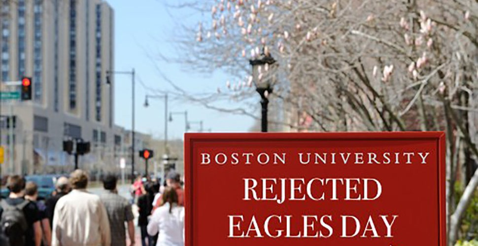 """BU Holds """"Rejected Eagles Day"""""""