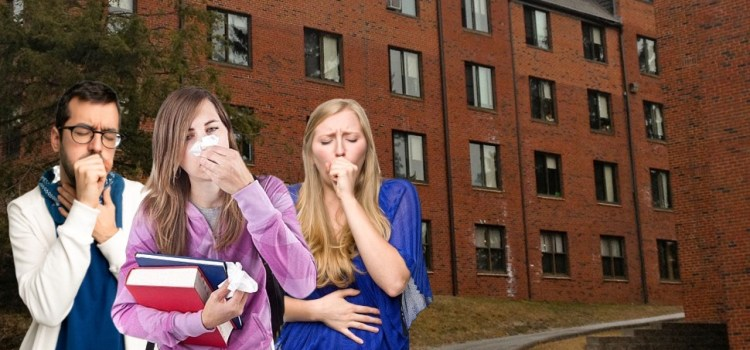 Twenty-Five Percent Of Freshman Class Comes Down With CoRo Virus