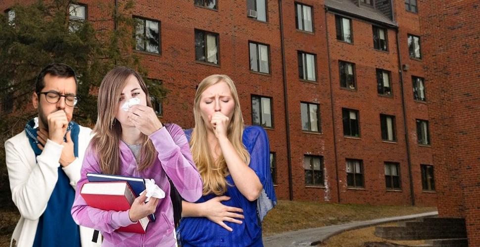 Twenty-Five Percent Of Freshman Class Comes Down With CoRo Virus