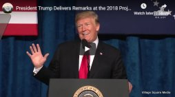 President Trump at the 2018 Project Safe Neighborhoods National Conference