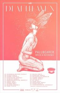 deafheaven tour flyer