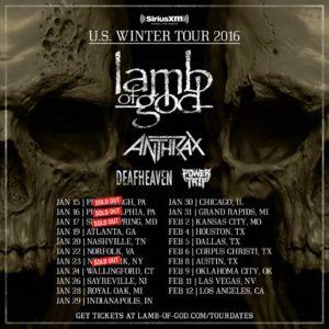 Lamb Of God Tour