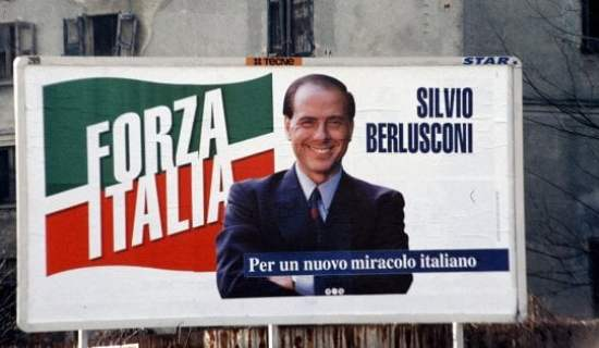 Celebrity Politica: Forza Italia