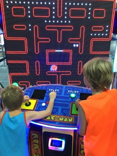Possibly the world's largest Pac-man game.