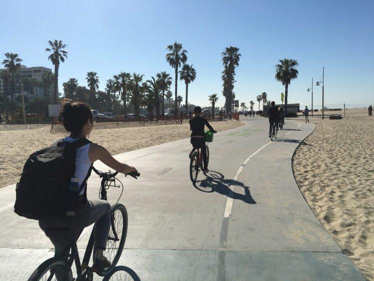 Riding Bikes at 420 Games