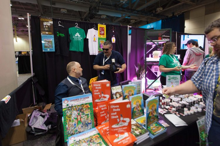 Cannabis Books Lift Expo