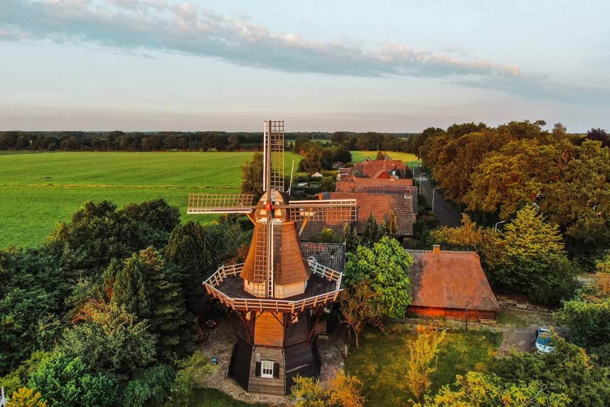 Molen Vledder, het zuid-westen van Drenthe