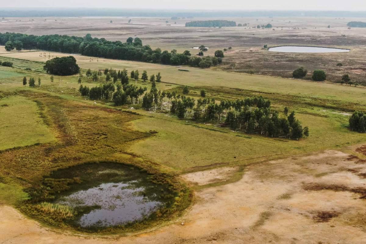 De drie nationale parken van Drenthe